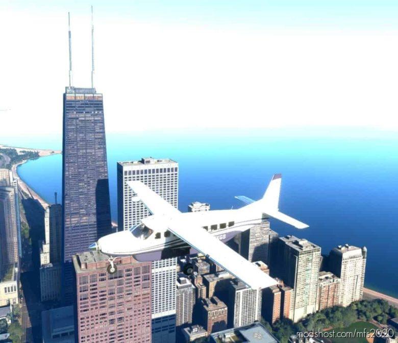 MAG Mile – John Hancock Center – Chicago V1.0.1 for Microsoft Flight Simulator 2020