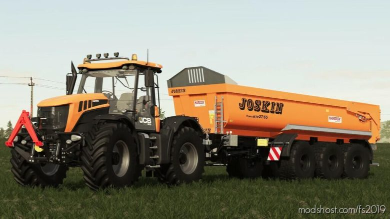 JCB Fastrac 3200 Xtra V1.1.1.0 for Farming Simulator 19
