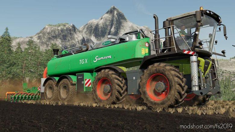 Samson SG, TGX for Farming Simulator 19