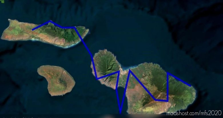 A Tribute For Flight Simulator X: Hawaii Checkout Mission for Microsoft Flight Simulator 2020