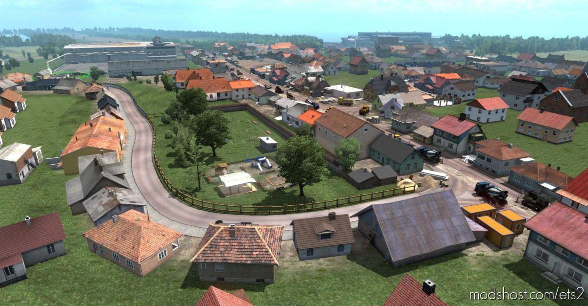 Bartoland Map V2.1 [1.39] for Euro Truck Simulator 2
