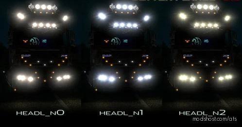 Better Flares V3.1C Fixed [1.39] for American Truck Simulator