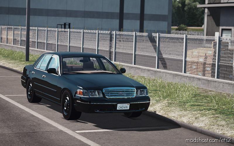 Ford Crown Victoria 2012 V4 [1.39] for Euro Truck Simulator 2