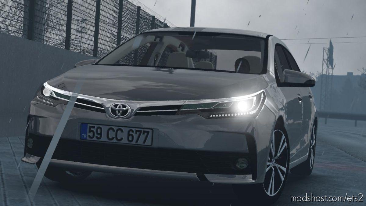 Toyota Corolla 2018 V1R50 [1.39] for Euro Truck Simulator 2