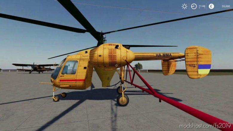 Flying KA-26 [Public Beta] for Farming Simulator 19