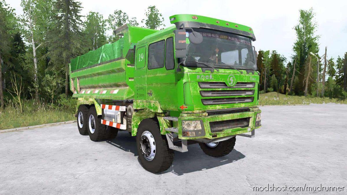 Shacman F3000 6×6 Dump Truck for MudRunner