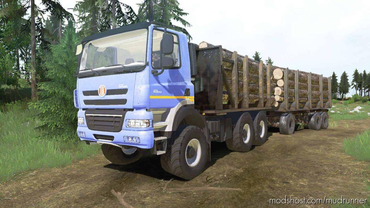 Tatra Phoenix T158 6×6 2012 Truck for MudRunner