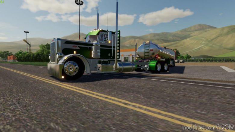 Peterbilt 359 for Farming Simulator 19