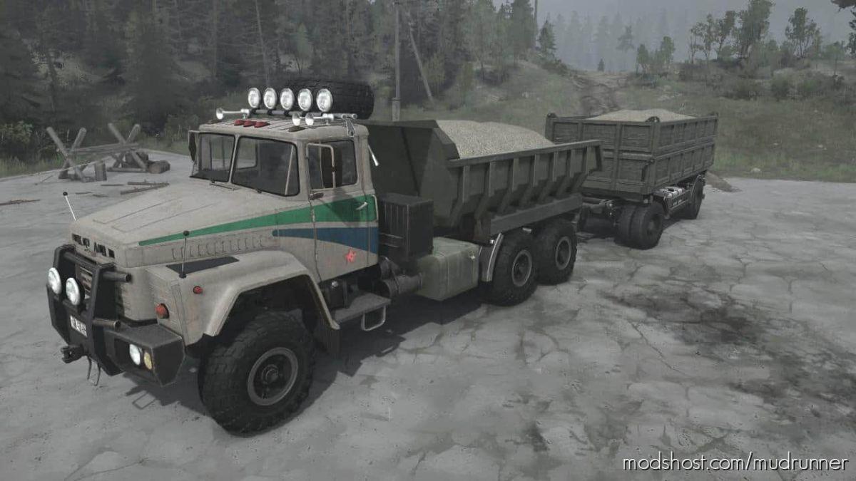 Kraz RSK Truck V15.11.20 for MudRunner