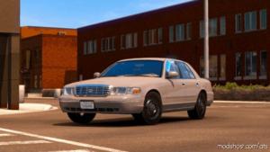 Ford Crown Victoria 2012 V4 [1.39] for American Truck Simulator
