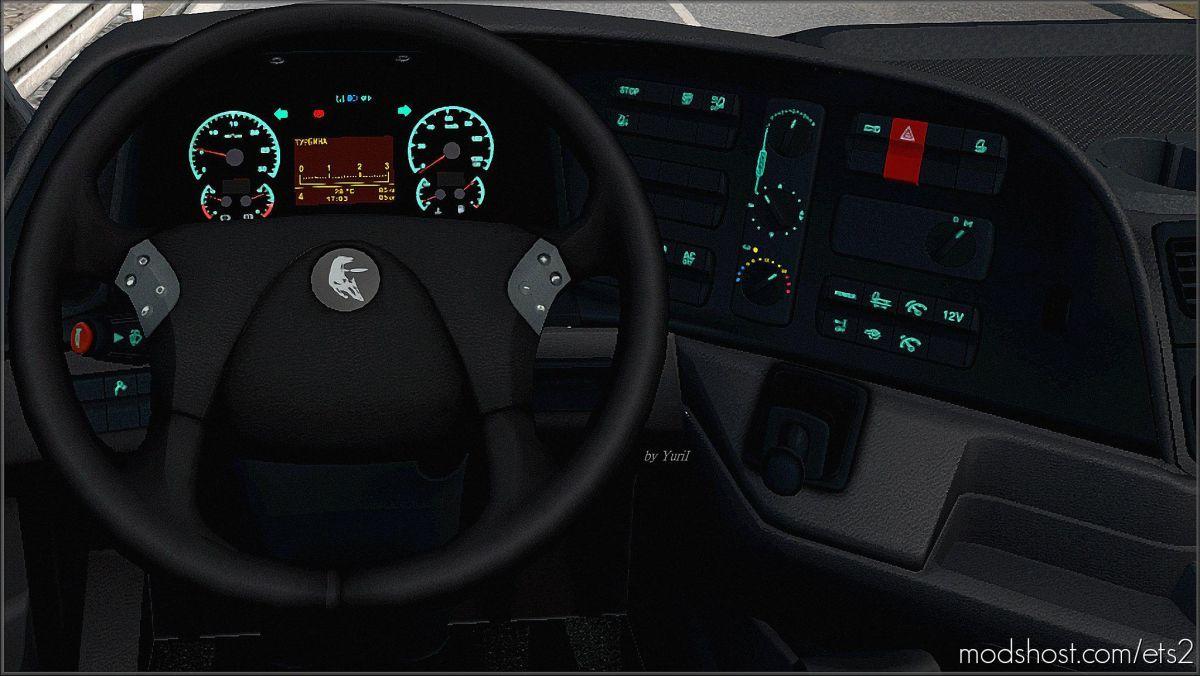 Dashboard Light Kamaz 5490 NEO Pack V2.0 for Euro Truck Simulator 2