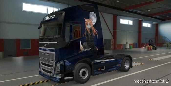 Dark Holo Skin For The Volvo FH for Euro Truck Simulator 2