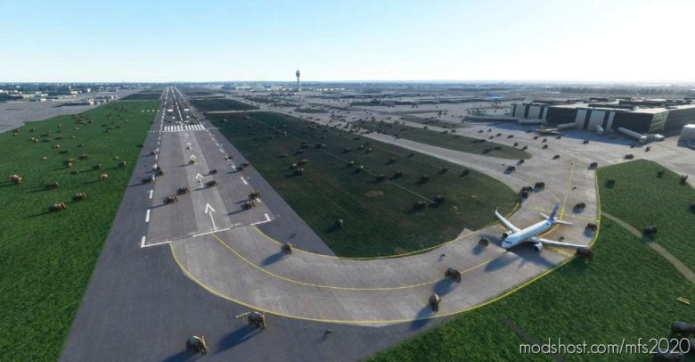 London Heathrow Elephant Invasion V0.1 for Microsoft Flight Simulator 2020