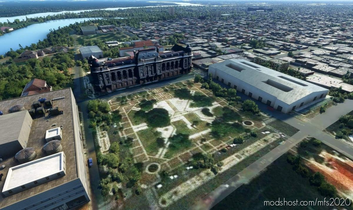 Ciudad DE Santa FE for Microsoft Flight Simulator 2020