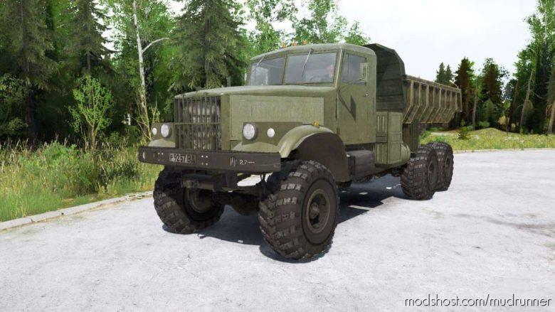 Kraz 256B1 Truck for MudRunner