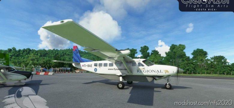 Sansa Regional | Memories Package | Asobo Cessna C208B EX Grand Caravan (8K) for Microsoft Flight Simulator 2020