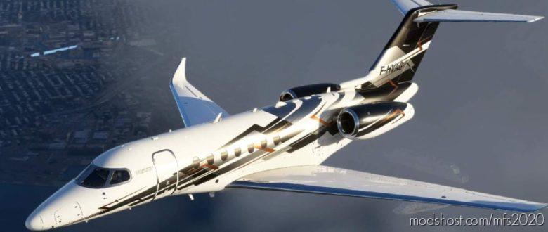 Citation Longitude N616NP for Microsoft Flight Simulator 2020