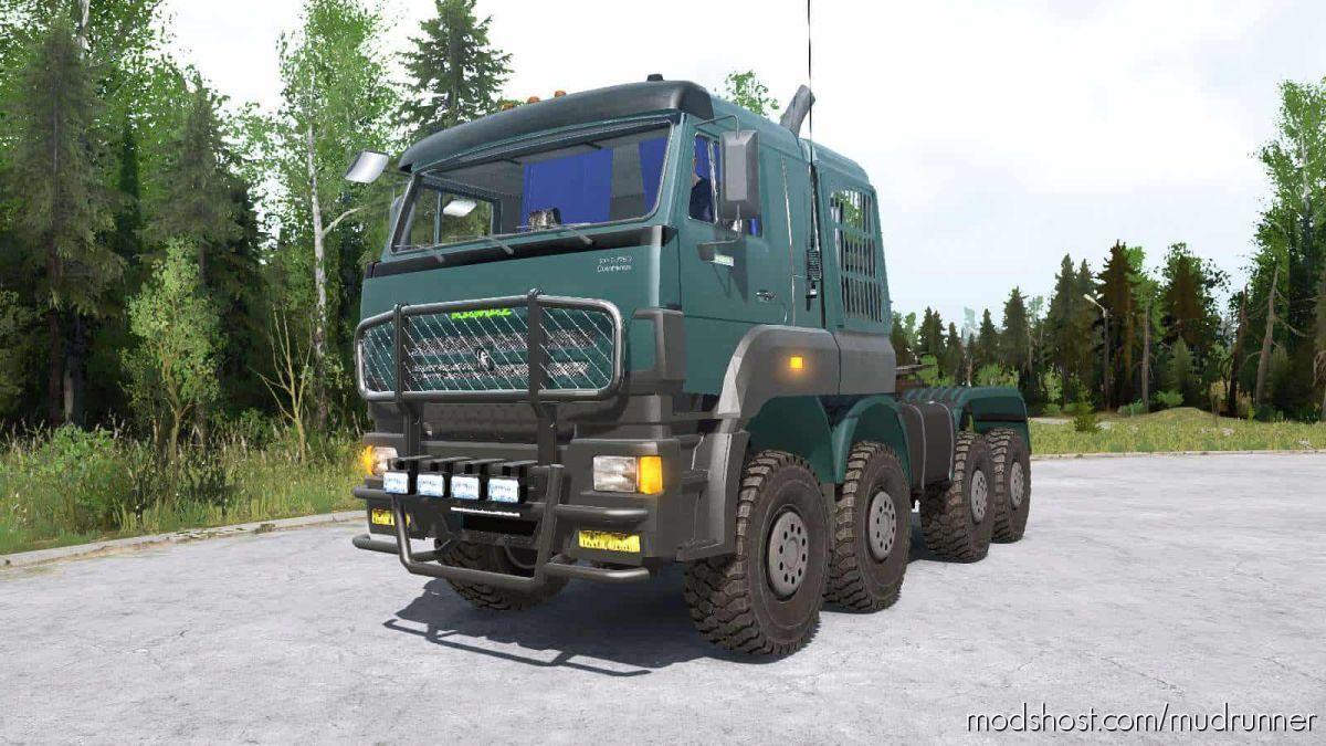 Kamaz-65228 Truck for MudRunner
