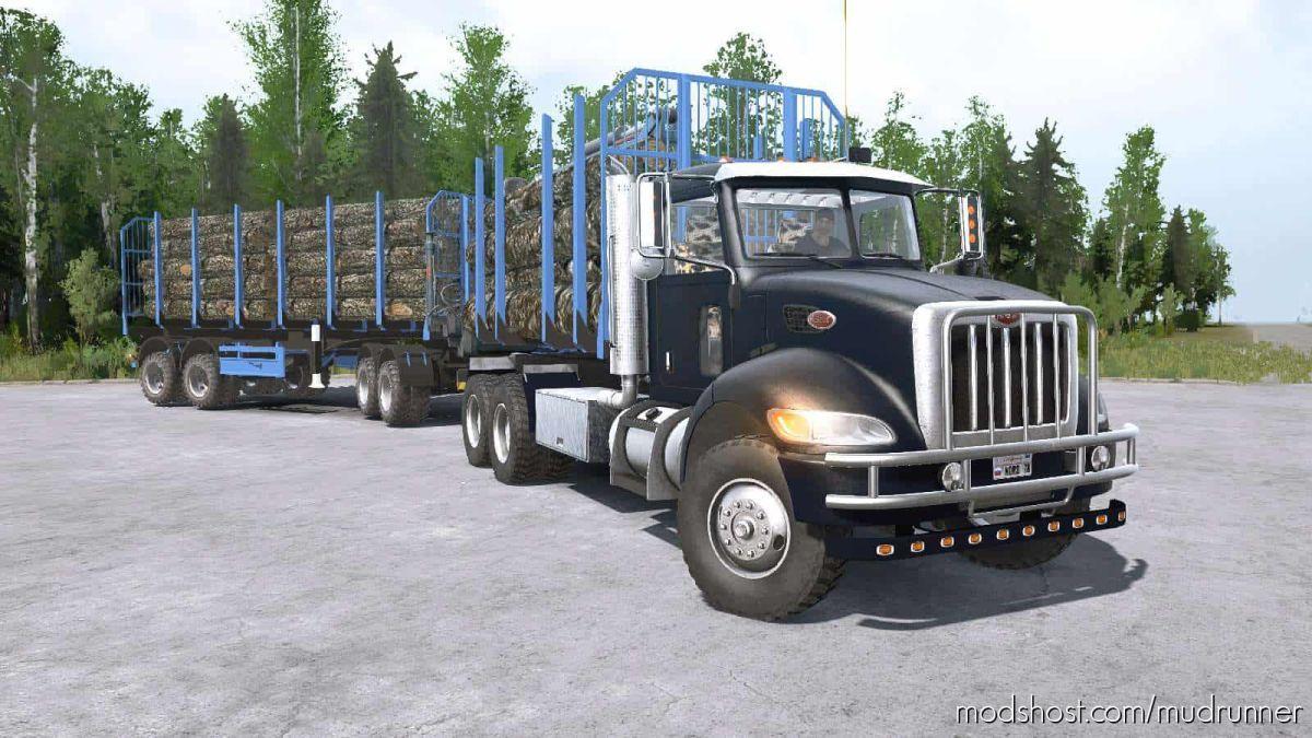 Peterbilt 330 6×6 Truck for MudRunner