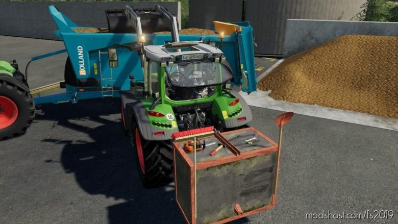 Concrete Weight for Farming Simulator 19