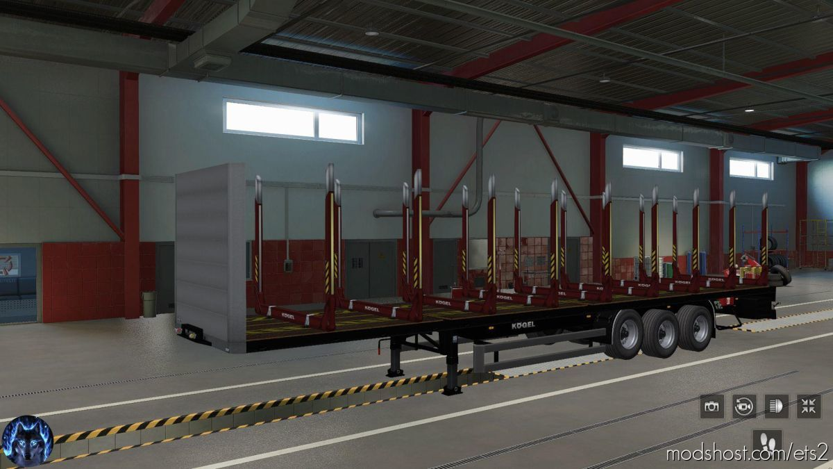Trailer Kogel Pack V1.5 for Euro Truck Simulator 2