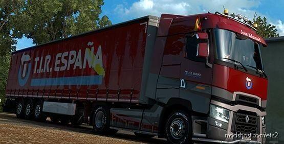 T.i.r.spain Combo for Euro Truck Simulator 2