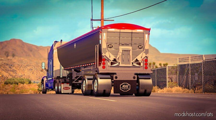 Dump Truck MAC Simizer Renenate In Ownership for American Truck Simulator