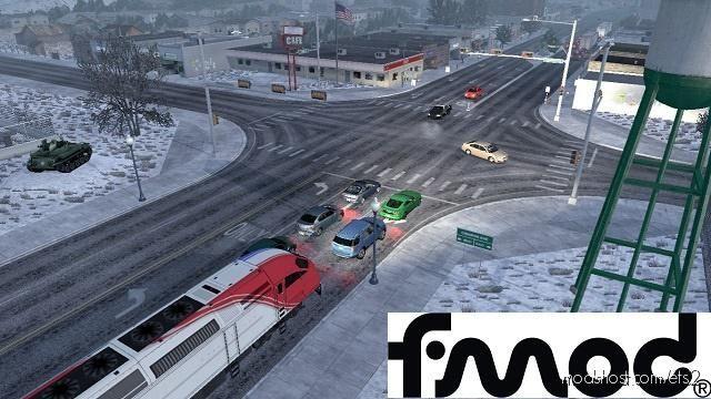 Trains Everywhere (Road Nightmare) [1.39] for Euro Truck Simulator 2
