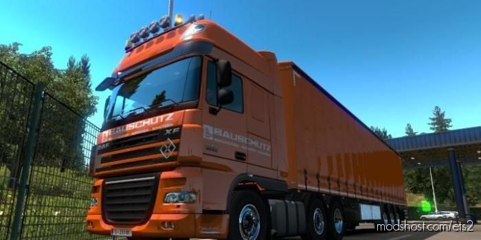 DAF XF 105 Bauschutz Skin for Euro Truck Simulator 2