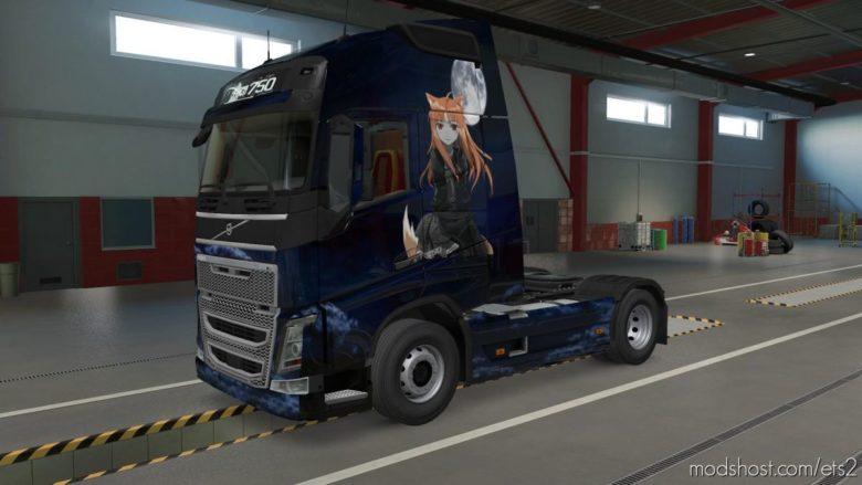 Dark Holo Skin For The Volvo FH [1.39] for Euro Truck Simulator 2