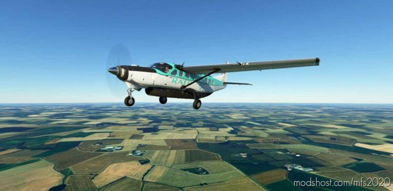 C208B Ratp (4K) for Microsoft Flight Simulator 2020