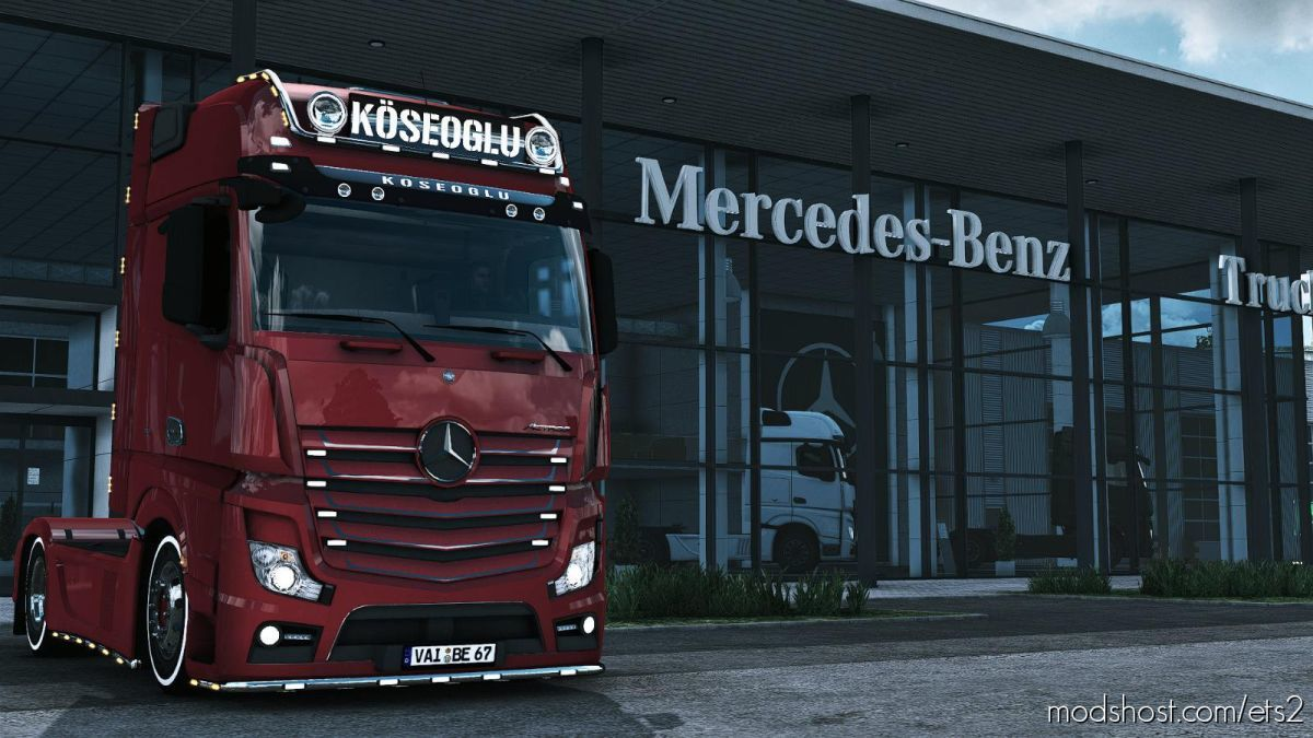 Mercedes Actros MP4 Koseoglu [1.39] for Euro Truck Simulator 2