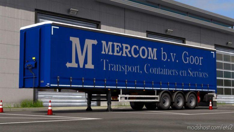 Mercom Goor Ownable Trailer Skin for Euro Truck Simulator 2