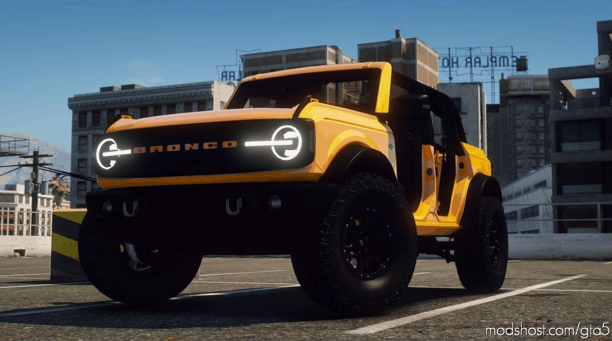 2021 Ford Bronco Wildtrak for Grand Theft Auto V