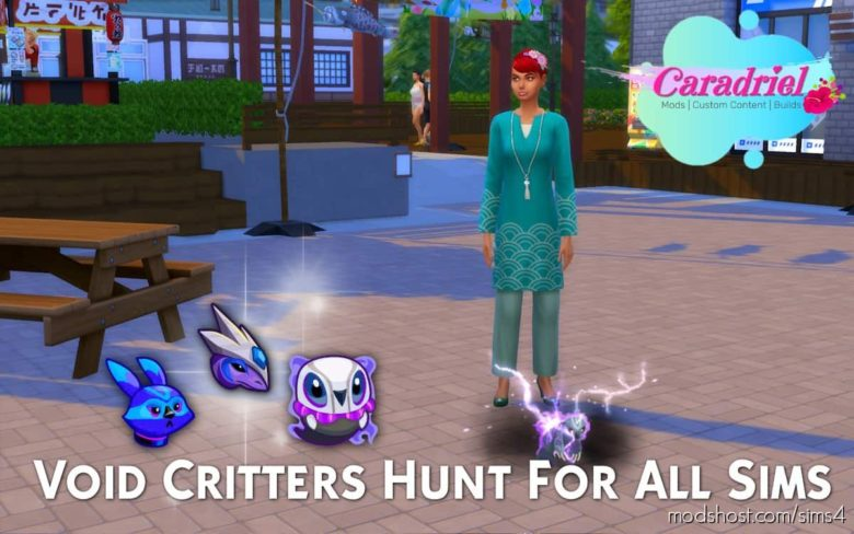 Void Critters Hunt For ALL Sims for The Sims 4