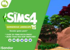 Gorgerous Landscape | Recolor Pack | Gardening Stuff for The Sims 4