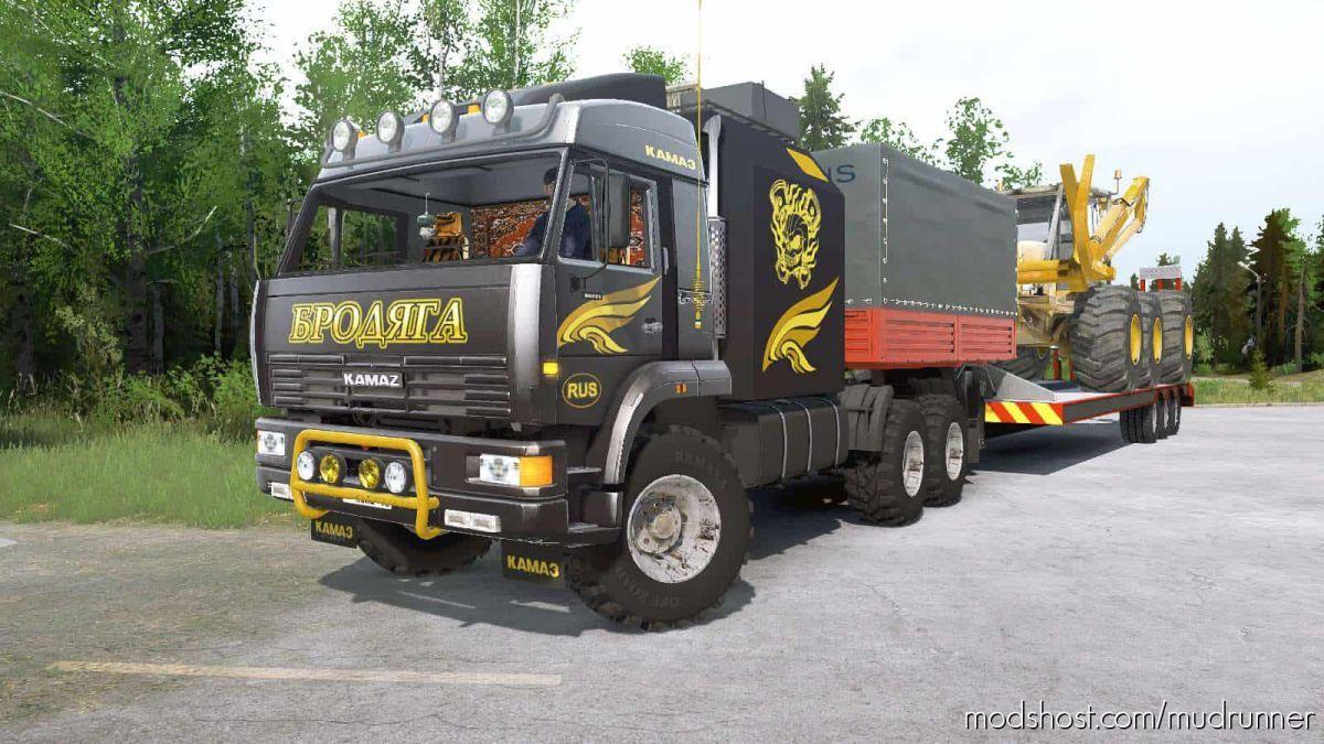 Kamaz-65224 Truck for MudRunner