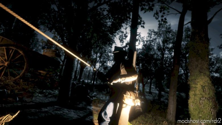 Stash That Lantern for Red Dead Redemption 2