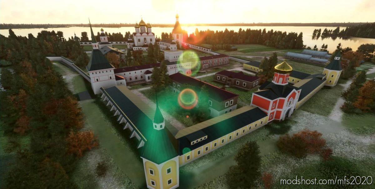Valday Landmarks And Ulna Airfield (With Orthophoto) V1.1 for Microsoft Flight Simulator 2020