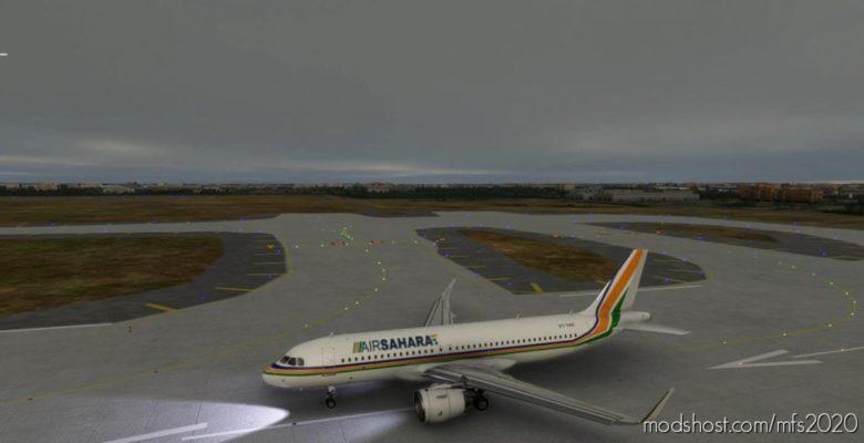A320 Sahara Airlines for Microsoft Flight Simulator 2020