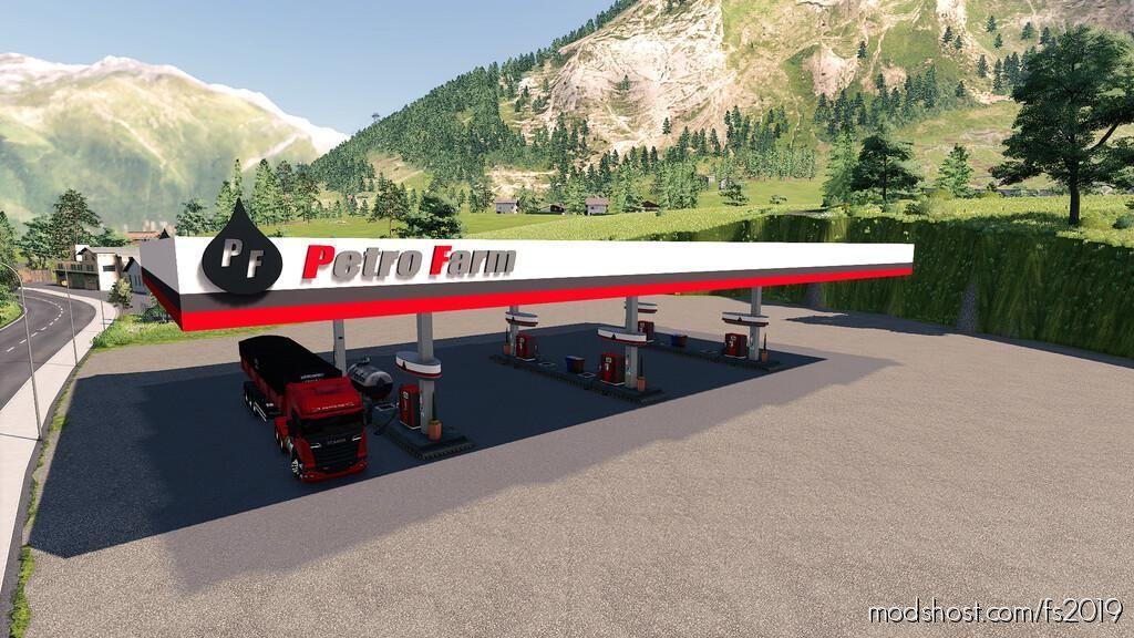 Petro Farm GAS Station for Farming Simulator 19