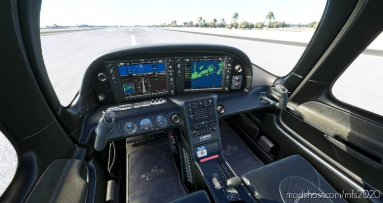 Black Interior Cirrus SR22 for Microsoft Flight Simulator 2020