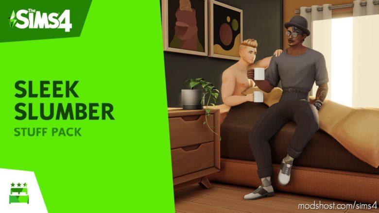 Sleek Slumber Stuff – Custom Stuff Pack for The Sims 4