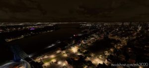 Montreal Molson Brewery Night Lights for Microsoft Flight Simulator 2020
