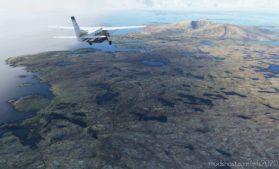 Bush Trip – Scottish Circumnavigation Part 1 West Coast for Microsoft Flight Simulator 2020