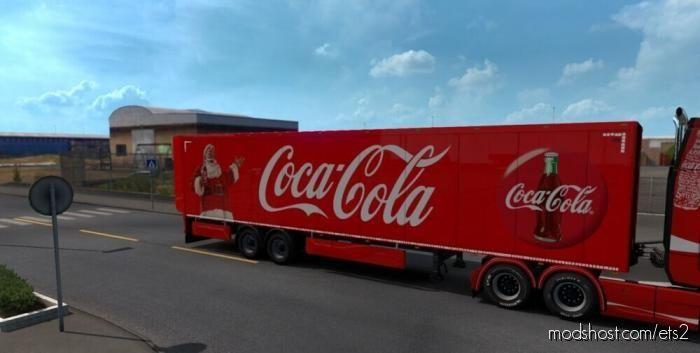 Coca Cola Christmas Trailer for Euro Truck Simulator 2