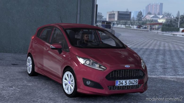 Ford Fiesta ST & St-Line V1R50 [1.39] for Euro Truck Simulator 2