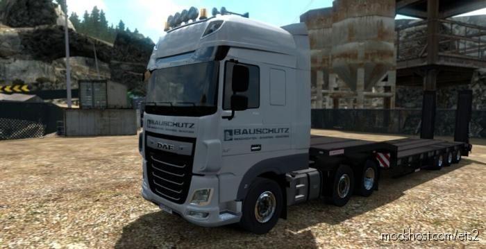 DAF XF Bauschutz Skin Pack V2 for Euro Truck Simulator 2