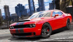 2016 Dodge Challenger V2.1 for Grand Theft Auto V