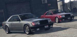 "1987 Mercedes-Benz 300CE AMG 6.0 ""Hammer"" 2-Pack V1.1 for Grand Theft Auto V"